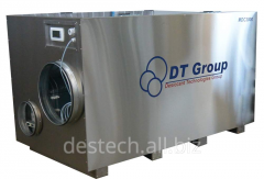 The adsorptive rotor dehumidifier of MDC300 air