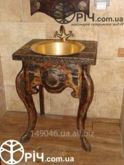 Washstand for the restaurant bathroom