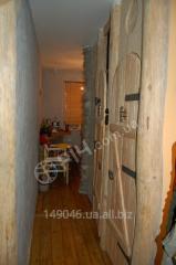 Door in kitchen