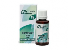 Drug of Normofit of MAP, 30 ml