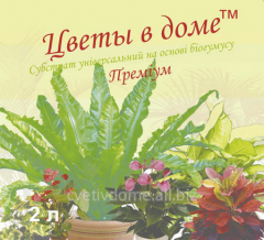 Substrates on the basis of biohumus the Premium of