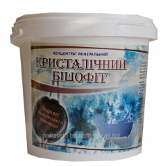 Mineral concentrate crystal bischofite for