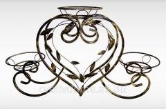 Shod flower stand - HEART 3