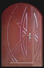 Двери бронированные МДФ покраска гранит, RAL