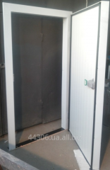 Doors are refrigerating otkryvny