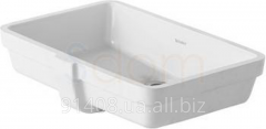 Duravit Vero wash basin under a table-top