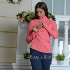 Golf for the feeding mothers, coral, the size S