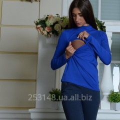 Golf for the feeding mothers, blue, the size S