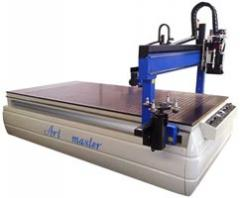 Woodworking milling machines with ChPU the Art
