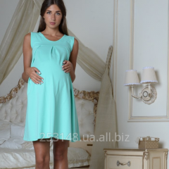 Nightgown continuous for pregnant women and
