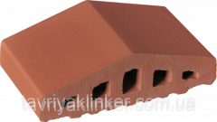 Profile brick for a protection Ruby red 01