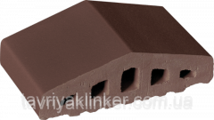 Profile brick for a protection Brown nature 03