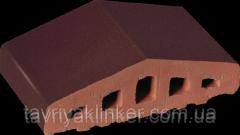 Profile brick for a protection the Karmazinovy