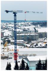 Tower crane bezogolovochny KB-586 brands, Nikopol
