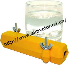 The activator on water