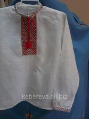 Vyshivanka for the boy of BM45, option 1