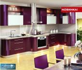 Кухни, мебель для кухни Акрил (НОВИНКА!) все виды