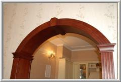 Arches wooden