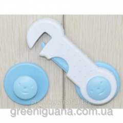 The lock on furniture protection against children,