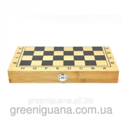 3 in 1 game (Chess, backgammon, checkers) (B4020
