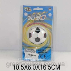 Yohe-yo the Soccerball on the Plane table of
