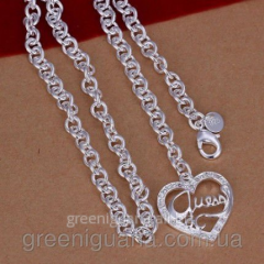 Guess Tiffany necklace (TF126). Covering silver