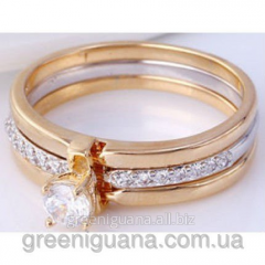 3 in 1 ring gilding from tsirkona the size 17 and