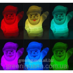 Pass the lamp Father Frost (changes colors of