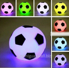Pass the lamp chameleon the Soccerball
