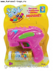 Soap bubbles guns Musical 18 cm (HF056D)