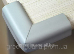 Soft protection on corners (a set of 4 pieces)