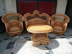 Furniture elite for rest, a wicker furniture,