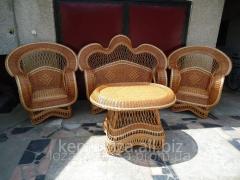 Мебель элитная для отдыха, плетенная мебель,