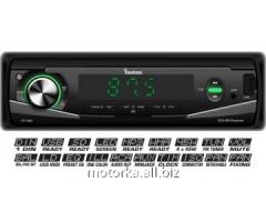 Fantom FP-300 Black/Green USB/SD autoradio tape