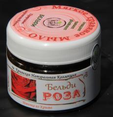 Cream-soap soft grassy Beldi rose (Crimean natural