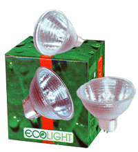 Галогеновые рефлекторные лампы Ecolight, Лампы