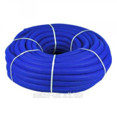 Protective corrugated pipe Koller blue