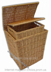 Household furniture from a rod, boxes and baskets