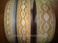 Lace the Greek metallized code 04590/3 width of 6
