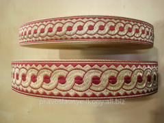 Lace the Greek code metallized to bands 05381