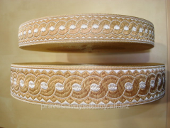 Lace the Greek code 05382/2 metallized band width