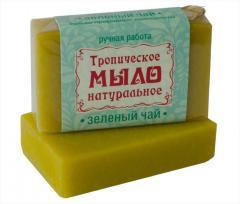 Крымское мыло натуральное «ЗЕЛЕНЫЙ ЧАЙ»
