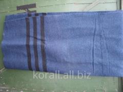 Одеяло военное солдатское шерстяное