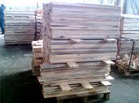 Заготовки леса для поддонов