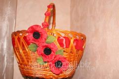''IAC'' the basket wattled,
