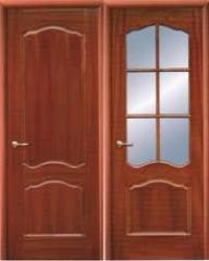 Изготовление дверей, Двери из натурального дерева.