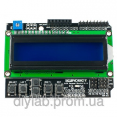 LCD keypad shield for Arduin
