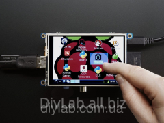 PiTFT 3.5 TFT 480x320 + Touch panel for Raspberry