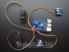 16-channel 12-bit PWM / Servo for Raspberry Pi I2C