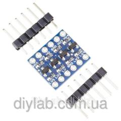 4-channel transmitter logic levels 5-3.3V, 3.3-5V
